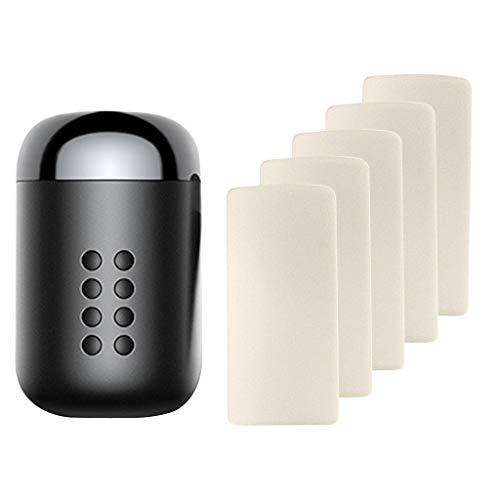 Koojawind Mini Deodorante per Auto Compatto Portatile di Fascia Alta Che Dura Fino A 2 Anni, Diffusori di Aromaterapia di Incenso alla Citronella per Auto