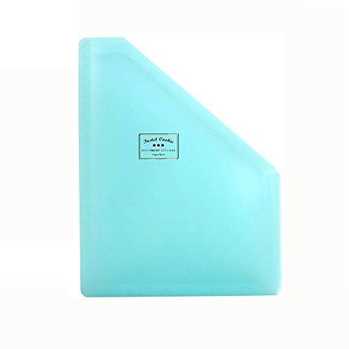 Expanding-Datei-Ordner - große Kunststoff-erweiterbare Datei-Organizer selbst stehend Accordion A4-Dokument-Ordner-Brieftasche Aktenkoffer Business Filing Box - 1300Pockets (Farbe : Blue)