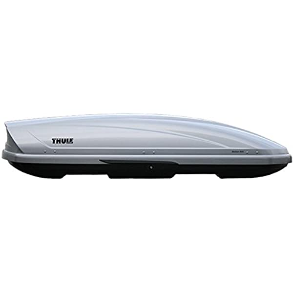 Thule Motion 800 Roof Box In Silver 460 Litre Capacity Discontinued By Manufacturer Amazon Co Uk Car Motorbike