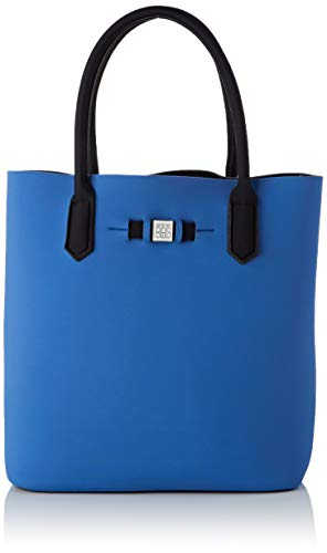 Save My Bag Damen Popstar Handtasche, Eimerform, Blau (NOTTINGHAM NOT), 32x33x19 cm