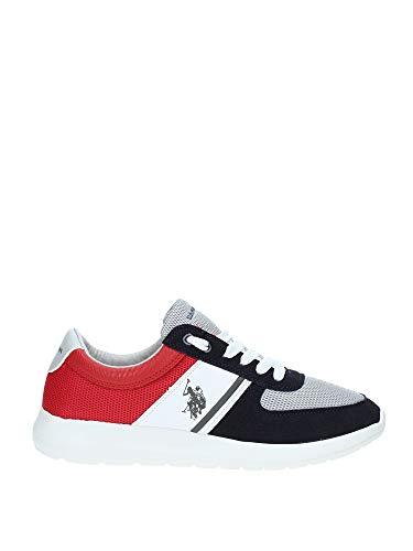 U.S. POLO ASSN DILLIER Navy-RED FAREL4027S9/MY1 Herren Sneaker, 44