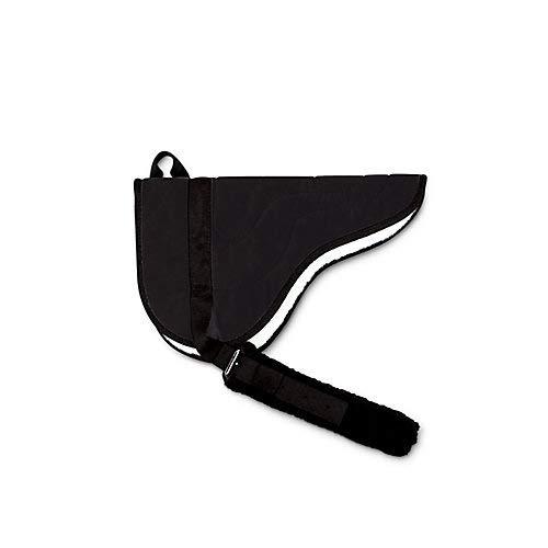 TOKLAT Microsuede Bareback Pad, schwarz, Einheitsgröße