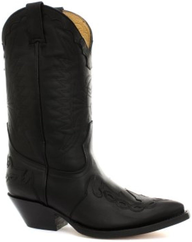 Grinders Arizona Cowboy Botas para hombre, color negro