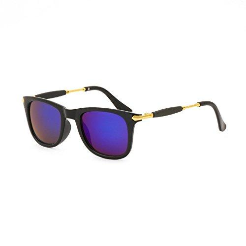 MaFs UV Protected Wayfarer Blue Mercury Exclusive Unisex Sunglasses (DSC_84)