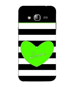 PrintVisa Designer Back Case Cover for Samsung Galaxy J5 (2015) :: Samsung Galaxy J5 Duos (2015 Model) :: Samsung Galaxy J5 J500F :: Samsung Galaxy J5 J500Fn J500G J500Y J500M (Heart Love Feeling Sentiment Emotion Strip )