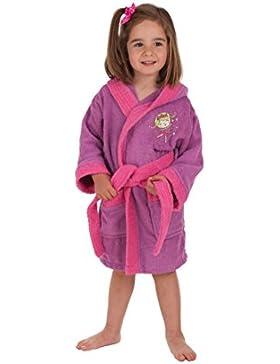 Secaneta - Albornoces de Niña Bordados. Albornoces Infantiles Algodón y Colores. Mod. Mandy (Niña 2 a 4 años)
