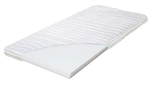 ARBD Topper, Matratzenauflage, Kaltschaum, 7cm - XL10cm - XL Wave 10cm - XXL Rave 12cm, Alle Größen - Schlafen Wie auf Wolken H2 + H3 … (H3-7cm, 180x200)