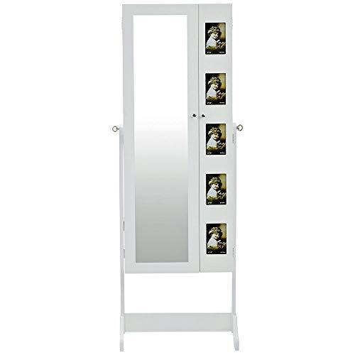 Schmuckschrank Spiegelschrank Schmuckkasten Standspiegel Spiegel Schmuckkommode
