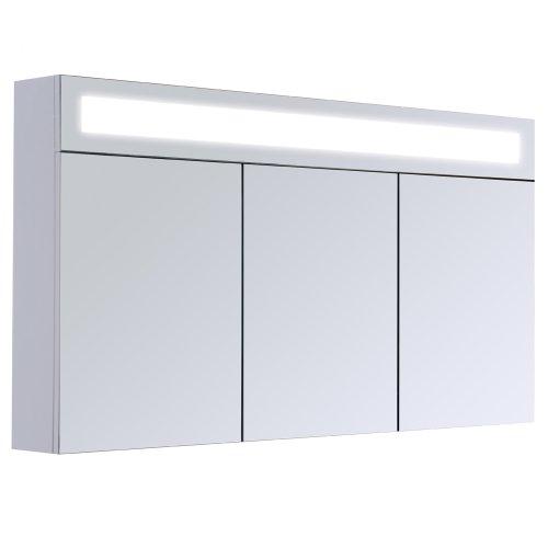 3D Wandspiegel Spiegelschrank - 120cm