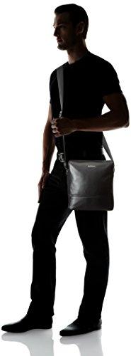 HUGO  Element_NS zip 10191374 01, Sacs bandoulière homme Noir (Black)