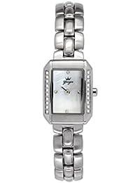 Yonger pour elle DMC 1582/02 - Reloj , correa de acero inoxidable color plateado