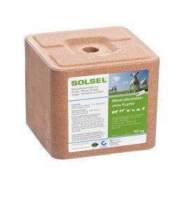 Solsel Mineralleckstein