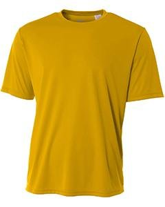 Youth Short-Sleeve Cooling Performance Crew GOLD XL (Youth Crew Tee)