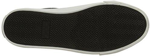 NONAME - Arcade Velcro, Scarpe da ginnastica Donna Noir (Altezza Leather Nero Fox White)