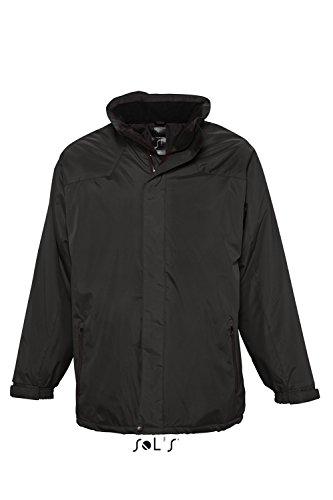 L945 Unisex Parka Reflex Winterjacke Übergangsjacke Jacke Black