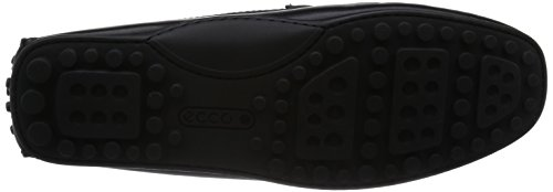 Ecco Hybrid Moc, Mocassins Homme Noir (black01001)