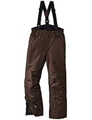Pantalón de esquí para niña Snowboard Pantalones Pantalones para la nieve invierno Pantalón 134/140marrón