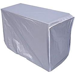 Zerodis Housse pour climatiseur extérieur Couverture imperméable de climatiseur de Couverture de climatiseur extérieur (94 * 40 * 73cm)