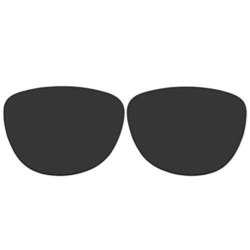 ACOMPATIBLE Ersatz-Objektive für Oakley Jupiter LX Sonnenbrille, Black - Polarized