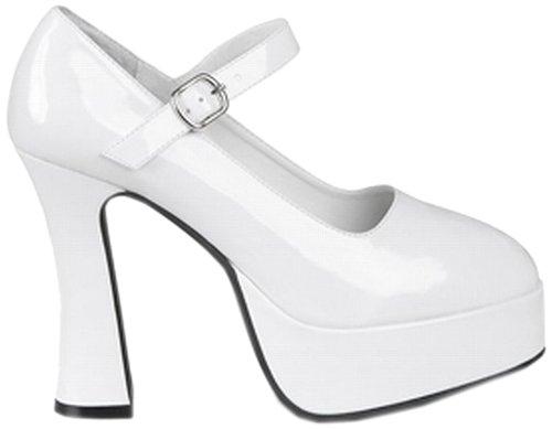 e Disco weiß, Gröߟe 38 (70er Jahre Stiefel Und Schuhe)