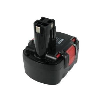 Batterie type BOSCH 2 607 335 274, 12.0V, 3000mAh, Ni-MH