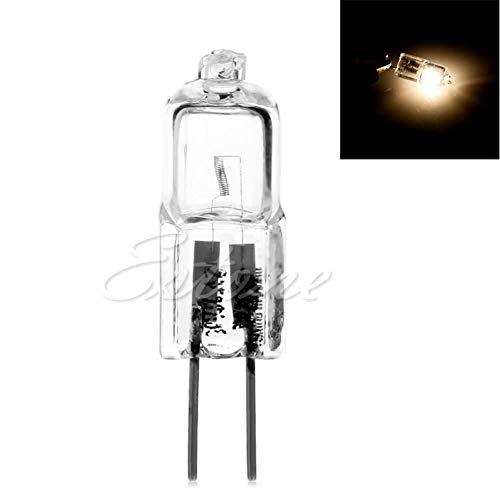 Jc Typ G4 Bi-pin (Xuniu G4 Bi-Pin Base JC Typ Dunstabzugshaube Glühbirnen, DC12V 10 Watt Halogen Glühbirne Lampe Warmweiß)