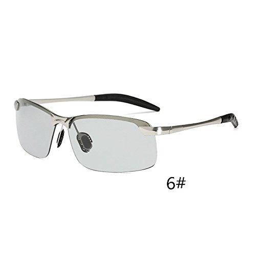 F.lashes Unisex Sportbrille Sonnenbrille Sunsation Fahrbrille für Männer Angeln Golf Brille mit Metallrahmen