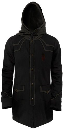Diablo-III-Fleece-Long-Hooded-Deamon-Hunter-Coat-L