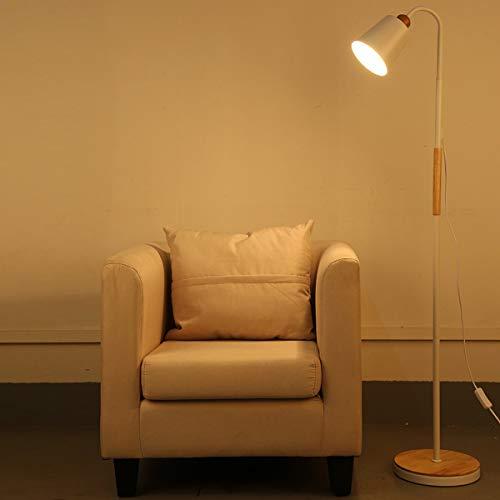LAMPES DE SOL LED ZXC YWXLight Lampadaire rotatif en métal Creative (Couleur : Blanc)