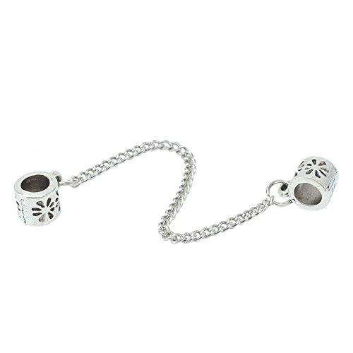 plata-antigua-flores-cadena-de-seguridad-pandora-para-beads-cadena-stopper-encantos-de-la-pulsera