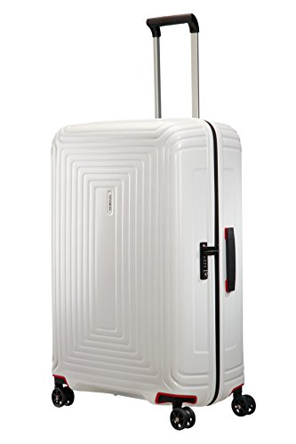 Samsonite Suitcase, 69 cm, 74 Liters, Matte White
