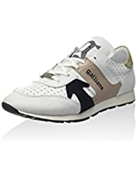Ver En Línea Barato John Galliano Sneaker Bianco/Argentato EU 36 Mejor Precio Uc0R8oDd