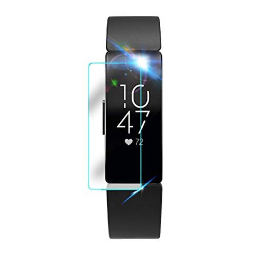Lazzgirl 3/5 STÜCKE Explosionsgeschützte Klare TPU Displayschutzfolie Für Fitbit Inspire Watch(B,One Size)