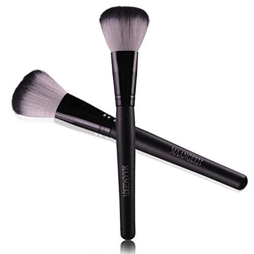Make-up-Pinsel, Griff, Flachkopfbürste, Profi-Rougepinsel, Foundation-Pinsel Make-Up Pinselset