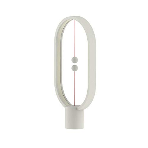 Tischlampe Kreativ Produkt Balance Lampe Massivholz Nachtlicht Romantik Nachttischlampe Augenschutz Tischlampe weiß 405x220mm -