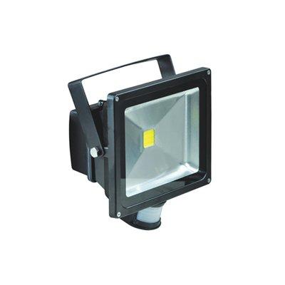 50 W superhelle LED-Flutlicht mit PIR-sensor, 150 W, entspricht HPS-Lampe, Tageslichtweiß, Sicherheitslampe/Flutlicht [] Energieeffizienzklasse A - 50w Hps Lampe