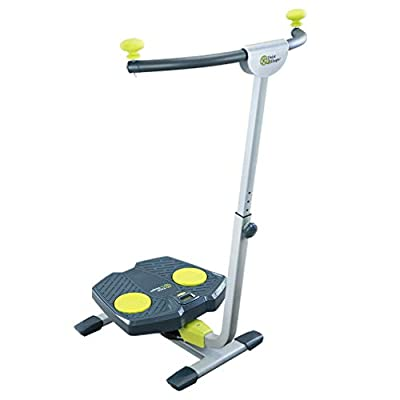 Twist & Shape - Fun Total Body Workout - Unisex Full Body Home Gym Exercise Machine for Core, Abs, Legs - Includes Workout DVD & Nutrition Guide from THANE