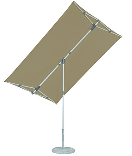 Suncomfort by Glatz Flex-Roof, off-grey, 210x150 cm rechteckig, Gestell Stahl, Bespannung Polyester, 5.3 kg