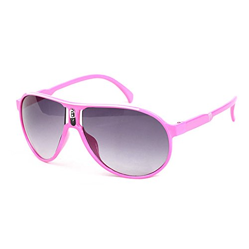 Keysui Candy Colors Children Boys Girls Kids Sunglasses Child Goggles Eyeglass Pink
