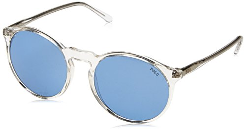 Polo Ralph Lauren Damen 0Ph4129 500272 53 Sonnenbrille, Weiß (Blue),