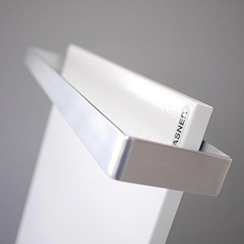 VASNER Aluminium Handtuchhalter  Handtuchwärmer Set  Infrarotheizungen Citara Glas Metall kaufen  Bild 1*
