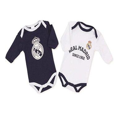 Baby-Body Real Madrid Größe 1 Monat, 2 Stück