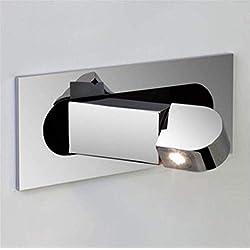 Eeayyygch Wandleuchte Eingebettete LED Wandleuchte Chinesische Einfache Und Stilvolle Automatische Schalter Schlafzimmermöbel Nachttischlampe [Energie A ++] (Farbe : -, Größe : -)