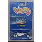 Hot Wheels 37 Bugatti 28 1991 Blue Card