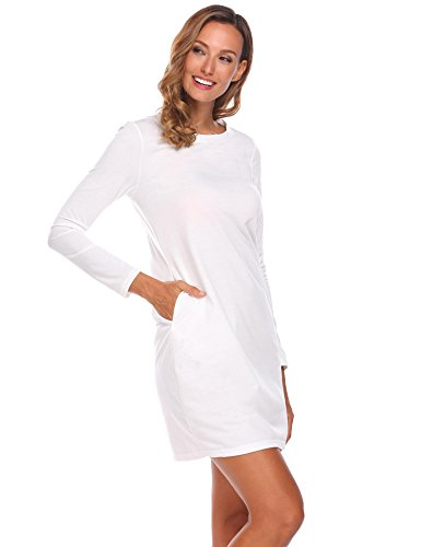 Keland Damen Super Basic Strickkleid figurbetont aus superweichem Viskose-Feinstrick, gestreift und uni (Feinstrick-kleid)