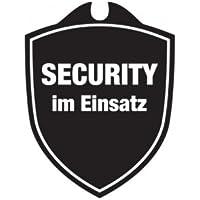 KLK Security im Einsatz Autoschild, Schwarz, One Size preisvergleich bei billige-tabletten.eu