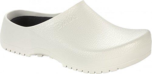 Birkis Super-Birki Kunststoff-Clogs Größe 45,0 290mm Normal White Alpro-Schaum - Erde-schuh-sandalen Frauen