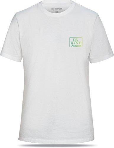 DAKINE Herren T-Shirt Clashort Sleeveic White