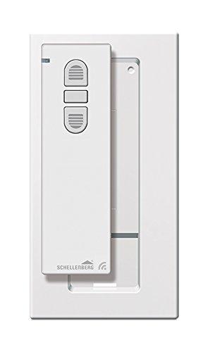 Schellenberg Smart Home Funk-Handsender 1-Kanal mit 868,4 MHz weiß | Fernbedienung für Rolladen, Licht & Steckdosen | steuert bis zu 5 Schellenberg Smart Home Geräte | Ready for Smart Friends
