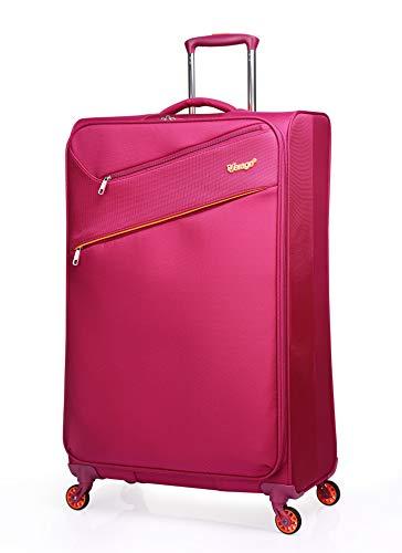 """Verage So-Lite Handgepäck Koffer Magenta S-47cm(18.5"""") Trolley Suitcase Reisekoffer Marken-Qualitätsware 55x35x20cm Kabinenkoffer für alle Fluggesellschaften. Super leicht nur 1,55kg!"""